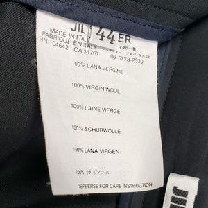Jil Sander Pants - Jil Sander Fluid Virgin Wool Wide-Leg Pants